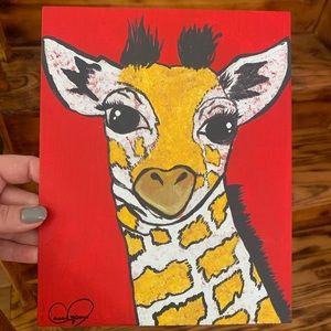 Giraffe Painting 🦒